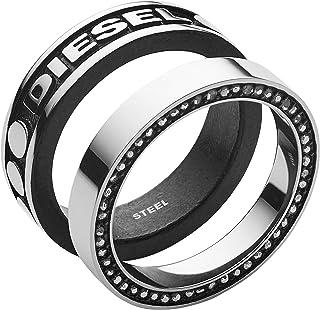Diesel Anello componibile Uomo acciaio_inossidabile