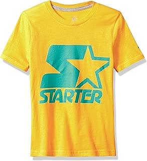 Starter Girls' Short Sleeve Logo T-Shirt, Amazon Exclusive