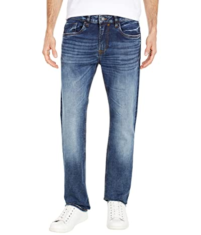 Buffalo David Bitton Ash Slim Jean in Indigo Vintage Contrasted (Indigo Vintage Contrasted) Men