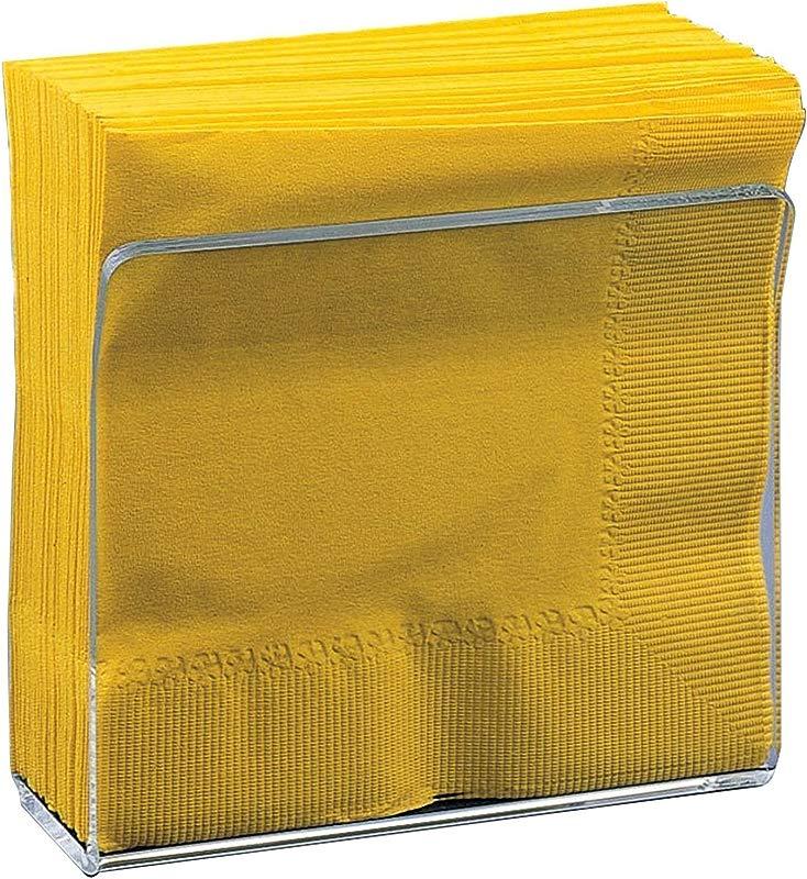 Deco Mate Acrylic U Shape Napkin Stand Holder Clear Table D Cor Bulk Set Wholesale 6