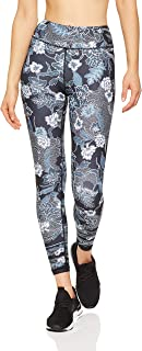 Dharma Bums Women's Botanic Black High Waist Printed Legging - 7/8