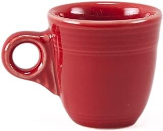 Fiesta Demitasse Cup, 3-1/2-Ounce, Scarlet