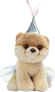 GUND World's Cutest Dog Boo Itty Bitty Boo #046 Princess Stuffed Animal Plush, 5