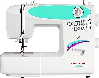 Necchi N83 - Máquina de Coser (Blanco, Máquina de Coser automática, Costura, Paso 4, 5 mm, Giratorio)