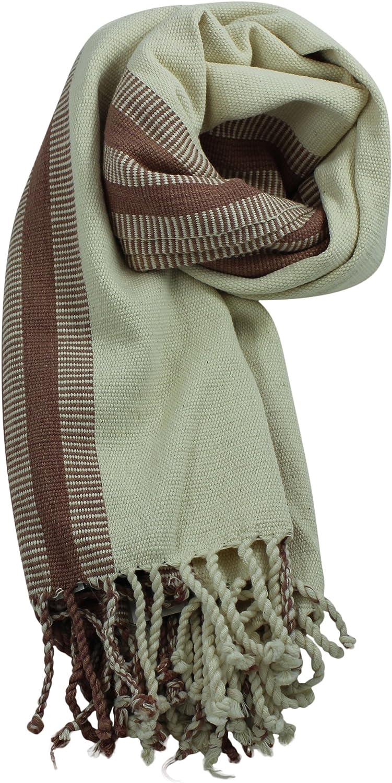 El Voyage Women's Handcrafted Organic Cotton Shawl