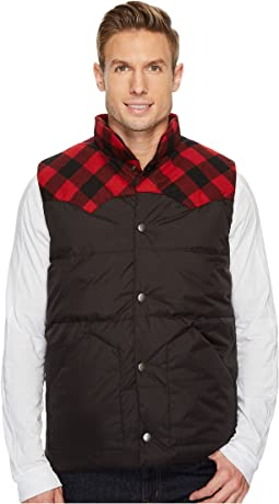 Stetson - 1440 Black Nylon Quilted Vest