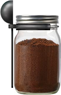 Jarware 82652 Coffee Spoon Clip for Wide Mouth Mason Jars, 6