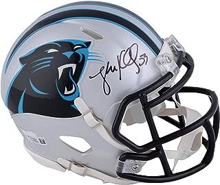 Luke Kuechly Carolina Panthers Autographed Riddell Speed Mini Helmet - Fanatics Authentic Certified - Autographed NFL Mini Helmets