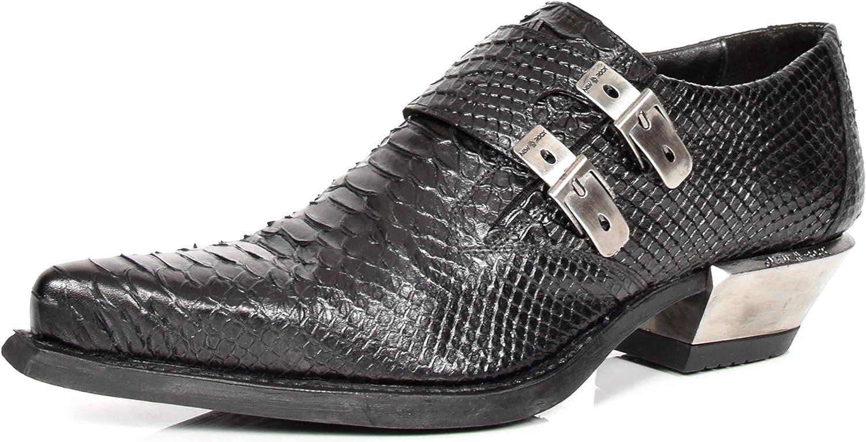 lowest price 22f8a 8b5c6 Schuhe Leder Echtes Print Snakeskin Herren New Schwarz ...