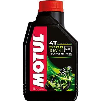 Olio lubrificante motor moto tecnosintético 5100 10W30 4T 1L 1 L