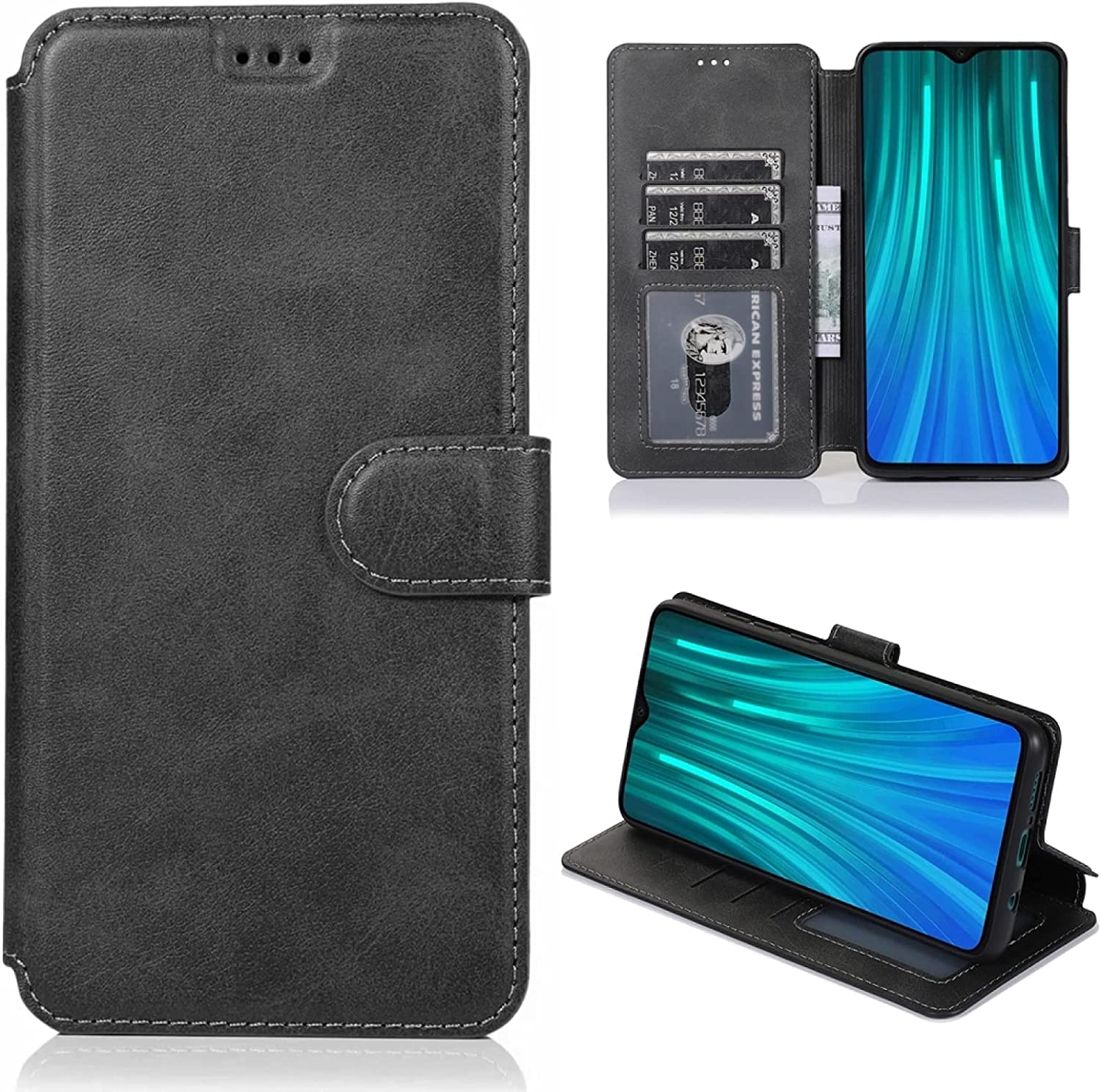 LUNCA for New product Manufacturer OFFicial shop type Xiaomi Redmi Note 8 Magnetic Texture Pro Calf H Buckle
