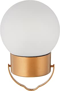 IdeaWorks JB6638 Hanging Solar Led Lights, Copper and Frosted