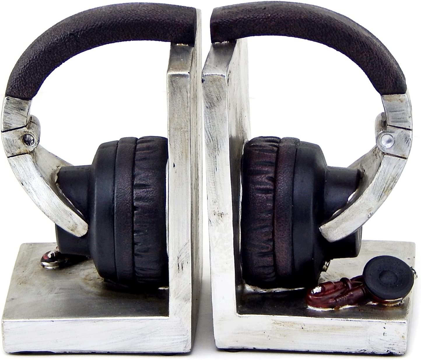 Bellaa Daily Lowest price challenge bargain sale 26256 Headphone Bookends Music Tall Lover Inch 6
