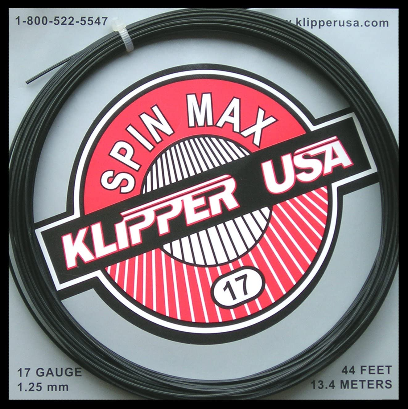 Our shop most Now free shipping popular Klipper USA Spin Max 44' Tennis Set String