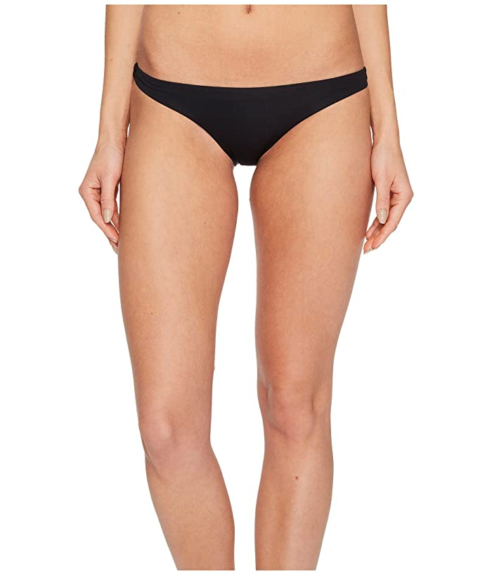 Vitamin A Swimwear Luciana Full Coverage Bottom (Eco Black) Women