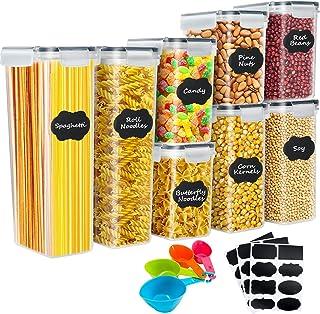 YMERSEN Ensemble de boîtes de rangement, Boîte de rangement Récipients en plastique hermétiques pour cuisine avec couvercl...