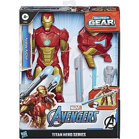 Avengers Figura Titan Con Accesorios Iron Man (Hasbro E73805L0)
