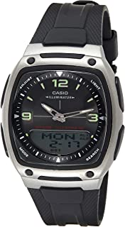Casio Casual Watch Analog-Digital Display Quartz For Men Aw-81-1A1V, Blue Band