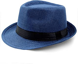 BABEYOND 1920s Panama Fedora Hat Cap for Men Gatsby Hat for Men 1920s Mens Gatsby Costume Accessories
