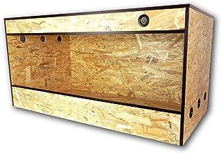 Terrabasic RepCage 100x 50x 50, ventilación lateral, termo-higrómetro