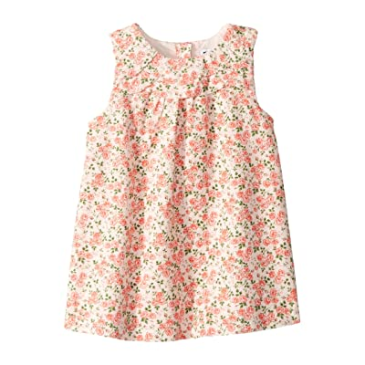 Janie and Jack Corduroy Floral Dress (Infant) (Floral) Girl