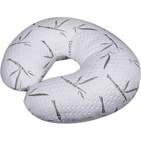 Gender Neutral Machine Washable Cotton Blend Fabric Infant Support with Allover Fashion Nursing Pillow and Positioner
