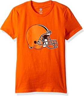 NFL Girls 7-16 Team Logo Short Sleeve Tee