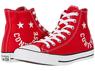 Converse Chuck Taylor All Star Smile Hi (University Red/Black/White) Athletic Shoes