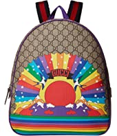 Gucci Kids - GG Rainbow Bird Backpack (Little Kids/Big Kids)