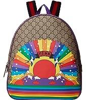 Gucci Kids - GG Rainbow Bird Backpack (Little Kids/Big Kids)