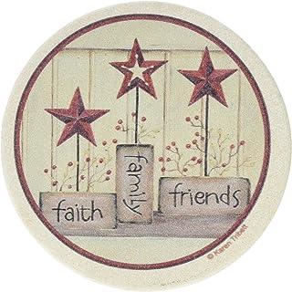 Thirstystone Drink Coaster Set, Faith Family Friends