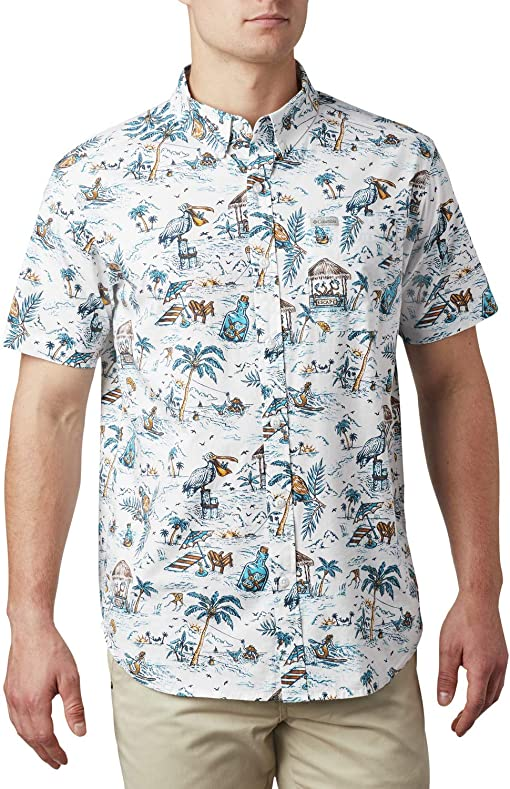 White Lost In Paradise Print