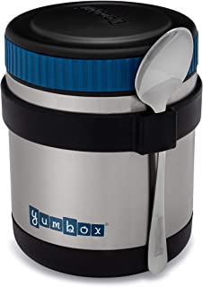 Yumbox Zuppa - Wide Mouth Thermal Food Jar 14 oz. (1.75 cups) with a removable utensil band - Triple Insulated Stainless S...