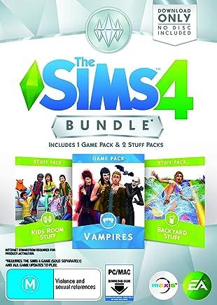 THE SIMS 4 BUNDLE PACK (Vampires, Kids Room Stuff, Backyard Stuff)