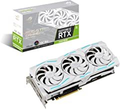 ASUS ROG Strix NVIDIA GeForce RTX 2080 Super Overclocked White Edition 8GB GDDR6 USB Type-C HDMI DisplayPort 1.4 Gaming Gr...