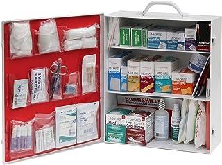 Medique AMZ, Industrial First Aid Cabinet, Filled (3-Shelf)