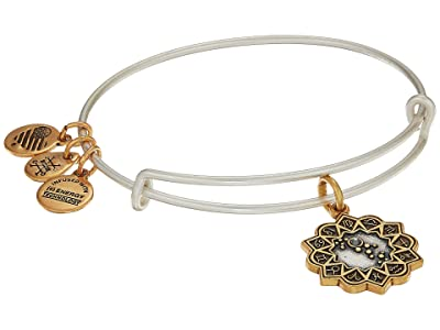 Alex and Ani Two-Tone Zodiac Bangle (Virgo) Bracelet