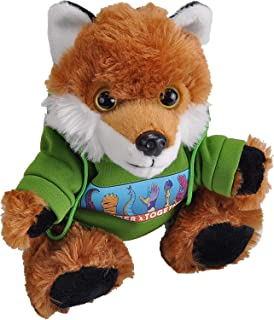 Wild RepublicStronger Together,Red Fox, Hoody,Stuffed Animal,8inches, Gift for Kids,Gift for First Responders,Plush...