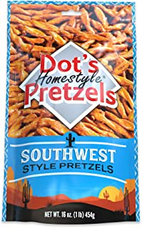 Dot's Homestyle Pretzels 1 lb. Bag (1 Bag) 16 oz. Seasoned Pretzel Snack Sticks
