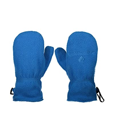 Obermeyer Kids Finley Fleece Mitten (Toddler/Little Kids) (Blue Vibes) Extreme Cold Weather Gloves