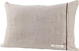 ブルーム 今治タオル 認定 ビレア ピローケース 5重ガーゼ 枕カバー 綿100% やわらか ガーゼ生地 日本製 (ブラウン)