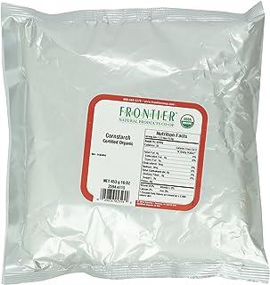 Frontier Herb Organic Cornstarch, 1 lb