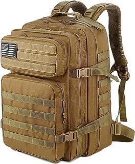 حقائب ظهر عسكرية تكتيكية 45L للرجال للتخييم والمشي لمسافات طويلة والرحلات حقيبة ظهر خروجة من مول 3 أيام من QT&QY