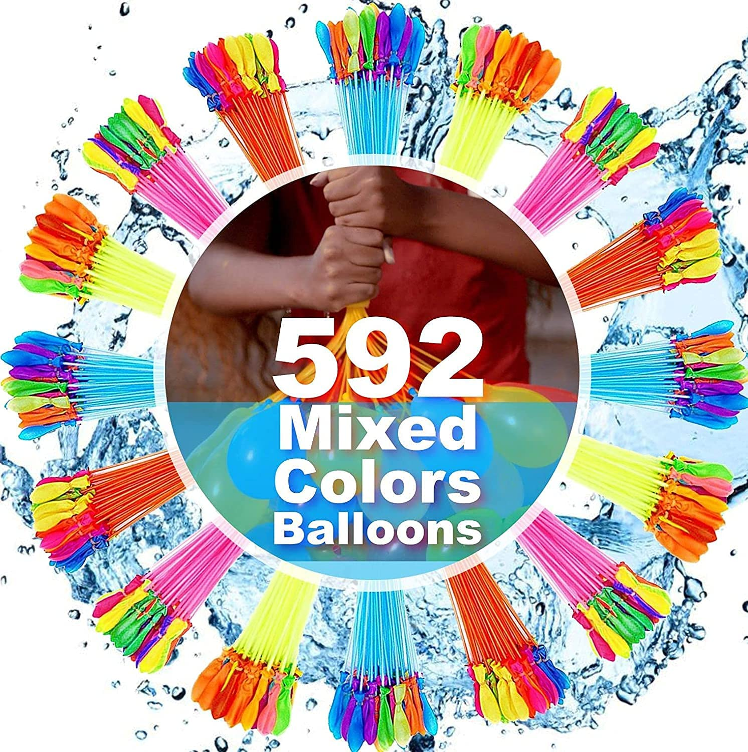 New mail order JOYGETIN Water balloons Special sale item quick fill self 592 for Ball sealing PCS