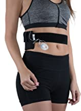 Athletic Insulin Pump Case with Strap for Medtronic 630G / 670G (L Waist, Black)