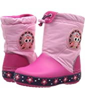Crocs Kids - CrocsLights Lodge Point Night Owl Boot (Toddler/Little Kid)