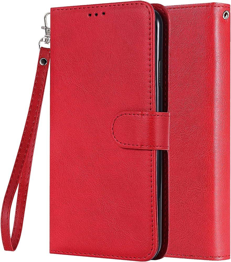 Lemorry porta foglio porta carte di credito custodia per apple iphone 6-7-8 in pelle sintetica Lmyeu3971