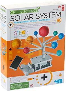 4M Hybrid Solar Engineering Motorised Solar System Planetarium Educational Toy