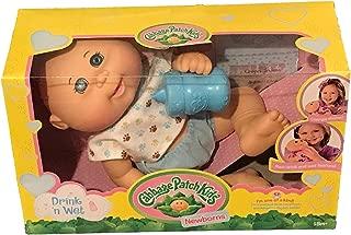 Cabbage Patch Kids Drink N' Wet Newborn Baby Doll (Paw Print)