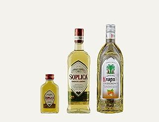 1x Soplica Haselnuss  1x Krupnik Haselnuss  1x kostenfrei Soplica Walnuss in der Probiergröße 32%, 0,1 Liter | Polnischer Haselnusswodka/-likör | je 32%, 0,5 Liter